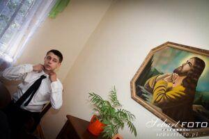 fotografia ślubna przygotowania będzin