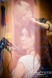 fotografia ślubna przygotowania śląskie fryzjer