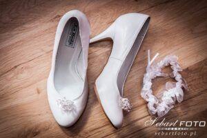 zdjęcia ślubne przygotowania szpilki