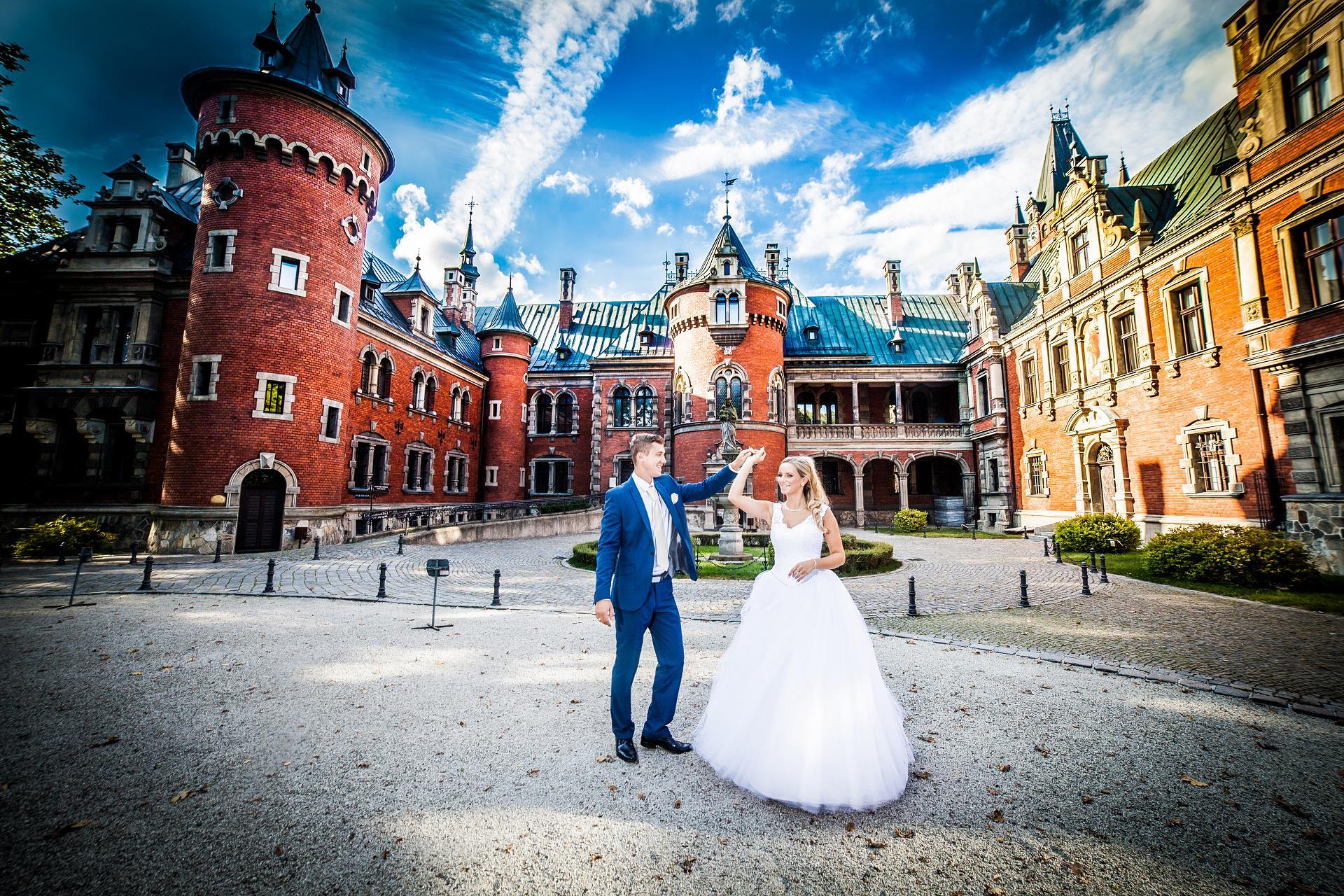 fotograf na ślub śląsk, fotograf ślubny śląskie, sesje plenerowe zagłębie, plener pałac pławniowice