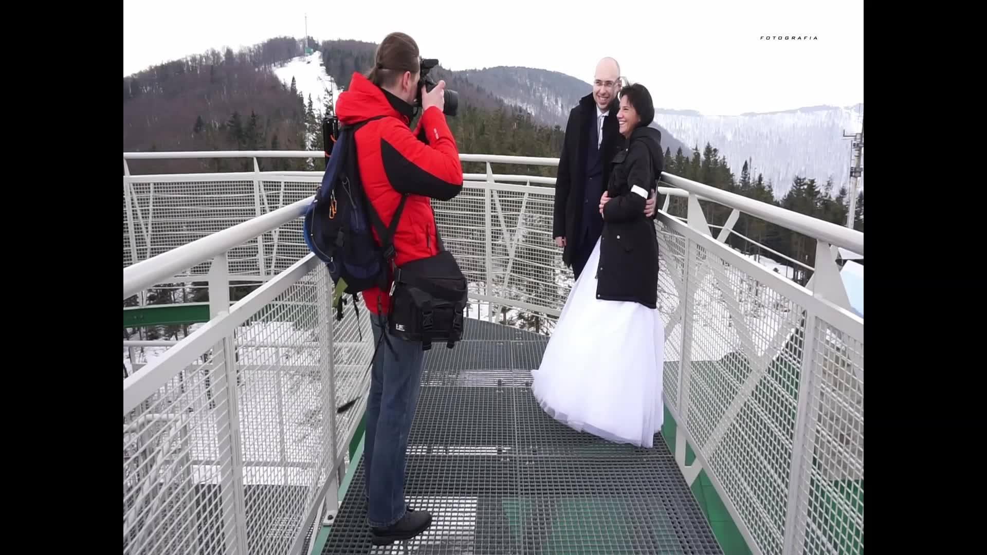 Obejrzyj Film z zimowej sesji plenerowej SebartFOTO!
