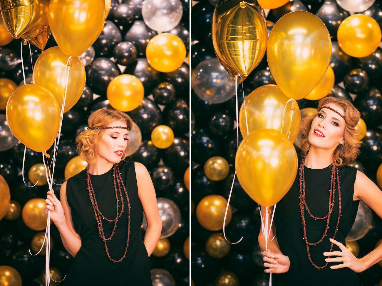 scianka balonowa do zdjec katowice