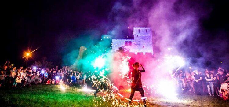 zdjęcia pokaz ognia sosnowiec