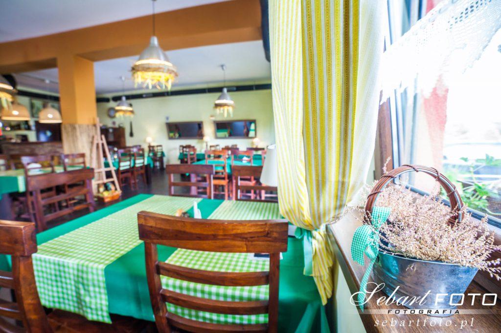 fotografia wnętrz restauracja sosnowiec